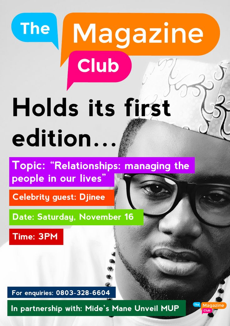 MRSHUSTLE UPCOMING EVENT: THE MAGAZINE CLUB SET TO HOST DJINEE FOR ITS MAIDEN EDITION!