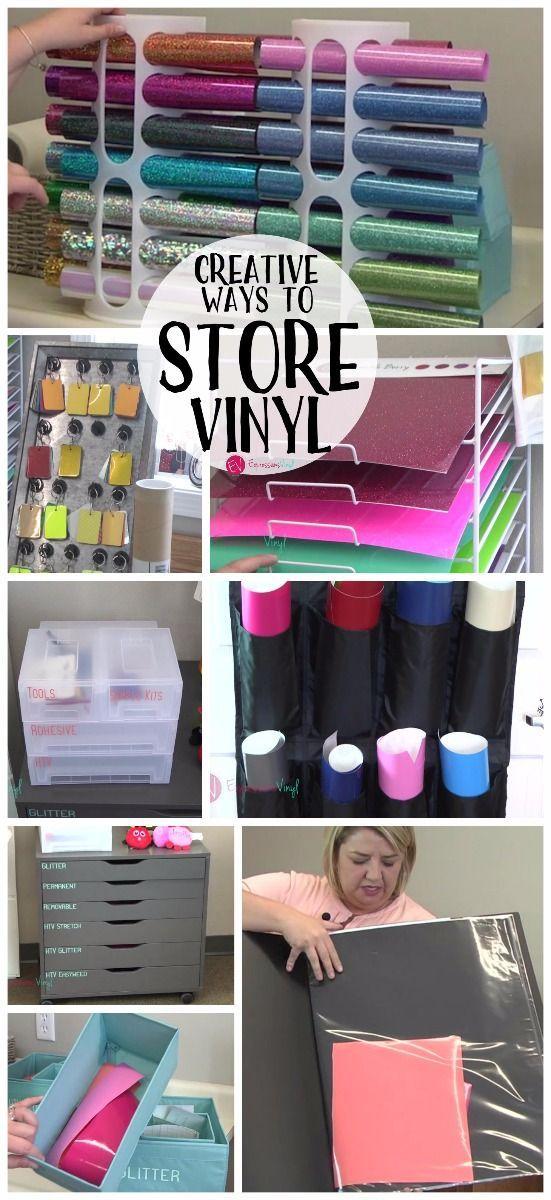 creative ways to store vinyl