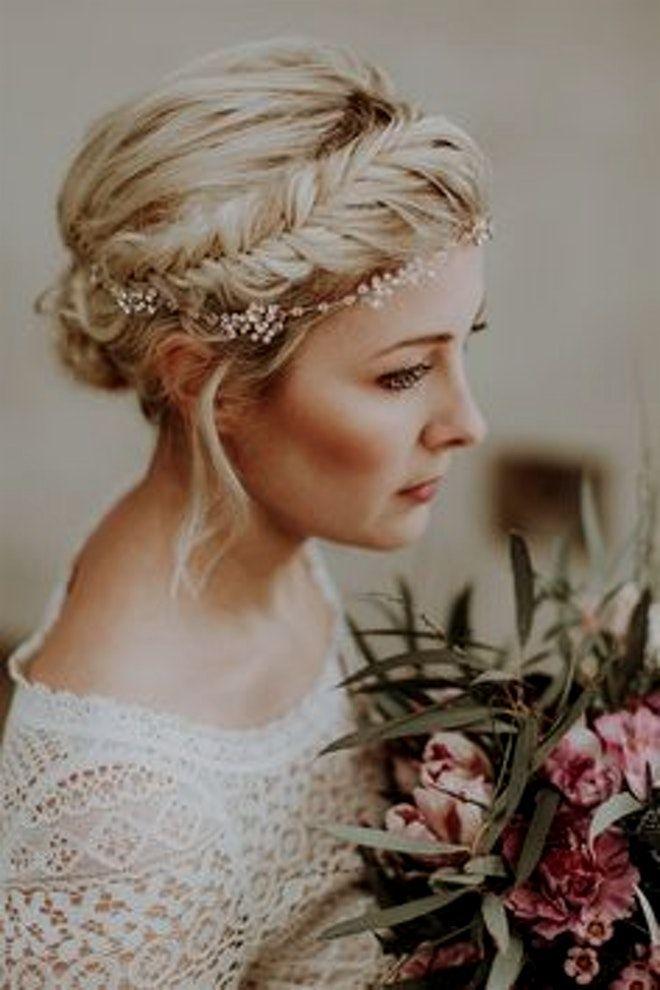Pin Auf Hochzeit Frisuren