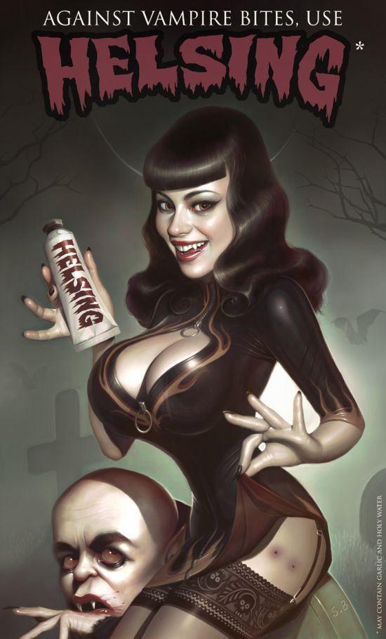 Vampire Illustration by Serge Birault