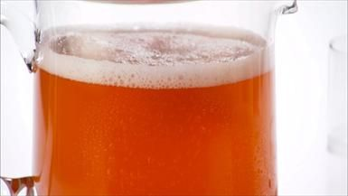 Stars & Stripes! Ginger-Peach Beer Cooler
