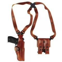 Victor Patrone's Galco Ambidextrous Vertical Shoulder Holster Rig (Tan). Chapter 6.