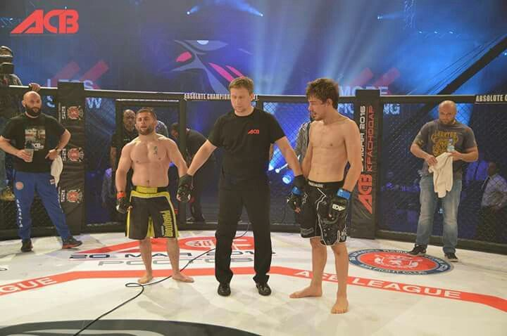 MMA FIGHTING ACB KEXAGIAS