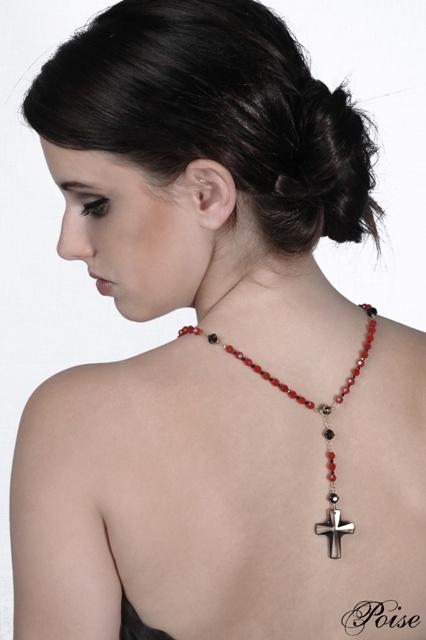 Swarovski crystal Rosary necklace - Divine Inspiration