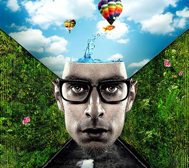 Create a Vibrant Conceptual Photo Manipulation in Photoshop