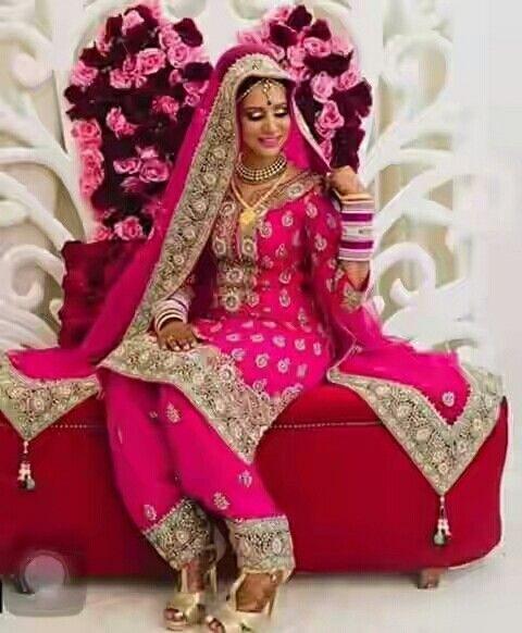 Best 25 Punjabi Wedding Suit Ideas On Pinterest
