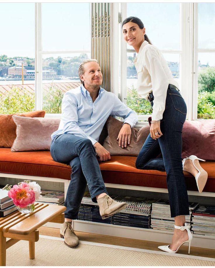 Giovanna Battaglia And Husband …