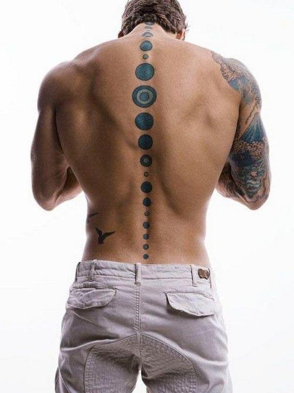 75+ Stilvolle Wirbelsäulen-Tattoos für Männer und Frauen – Designs & Bedeutungen (2018