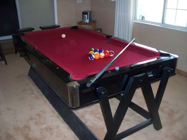 Harvard pool table and air hockey combo