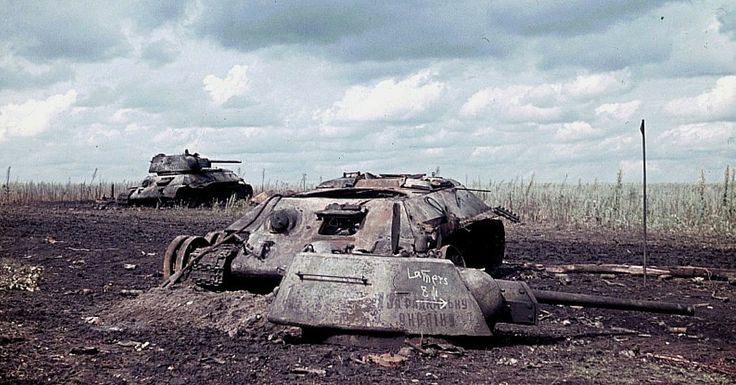 Unseen Pictures Of The Biggest Tank Battle of WWII