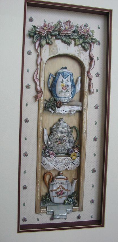 Papertole, арте-франчез или 3d декупаж. Обсуждение на LiveInternet - Российский Сервис Онлайн-Дневников