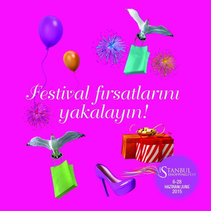 İstanbul Shopping Fest 2015 için son 10 gün! Fırsatlar için web sitemizi takip edin! http://istshopfest.com/firsatlar/