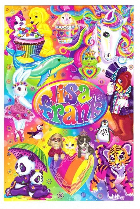 The American Legacy: Lisa Frank || Crafturday Blog