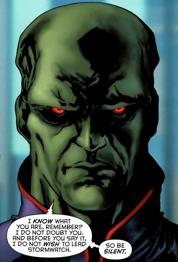 Martian manhunter | Martian Manhunter (J'onn J'onzz) - Martian Manhunter