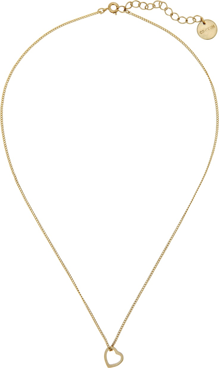 Soul Necklace, $95  A petite heart charm puts the soul into this delicate necklace. With an extendable gold coloured chain and softly brushed finish, this easy everyday necklace will become a sentimental piece for Mum to treasure. #oroton