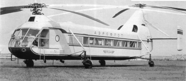 вертолёт Як-24. СССР