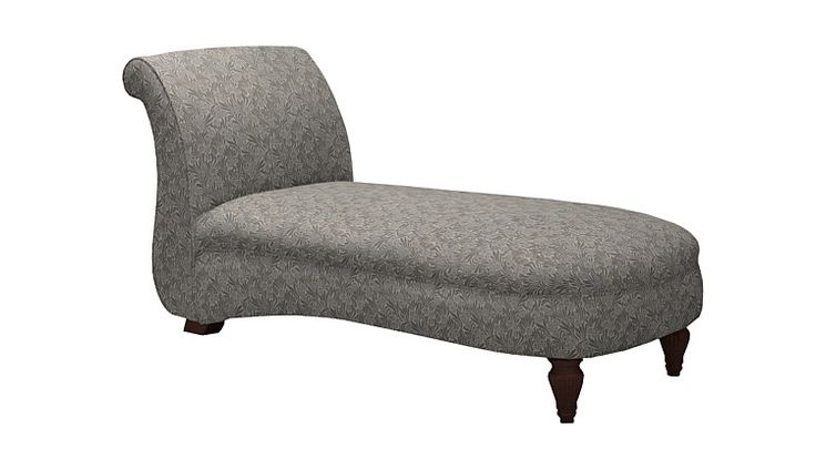 Olivia Chaise Longue in Martha Sage