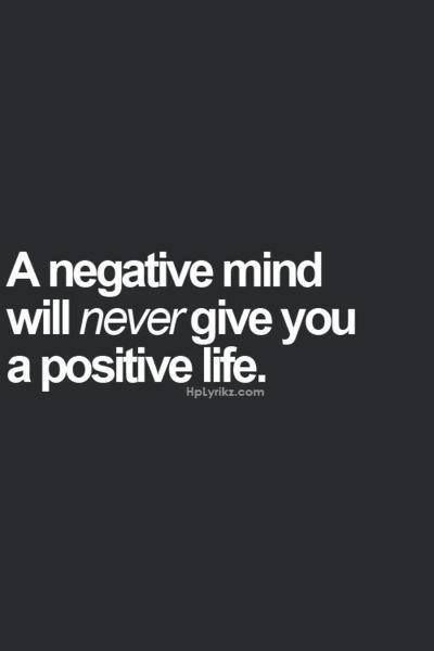 Being Positive & Having Faith in God