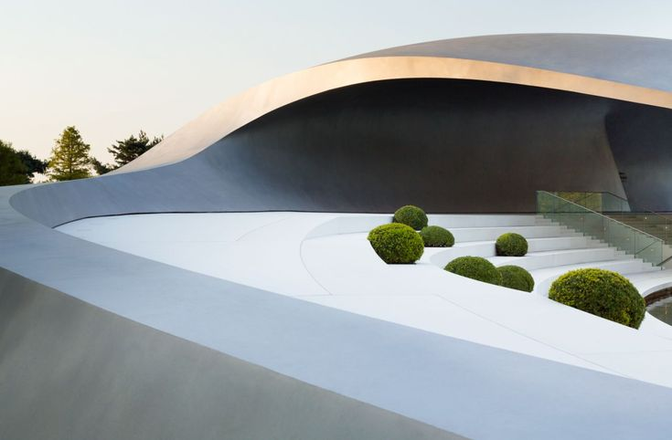 Gallery of Porsche Pavilion at the Autostadt in Wolfsburg / HENN Architekten - 12