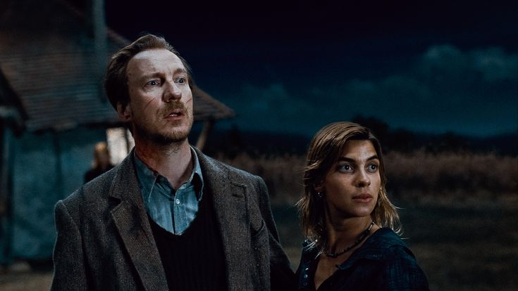 DAVID THEWLIS as Remus Lupin and NATALIA TENA as Nymphadora Tonks in Warner Bros. Description from blog.bigmoviezone.com. I searched for this on bing.com/images