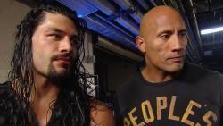 Roman Reigns and Brock Lesnar meet face to face: Raw, January 26, 2015 | WWE.com
