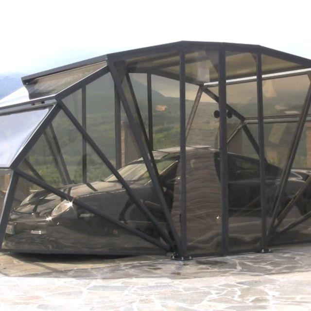 Best Gazebox Folding Garage Modern Gazebo Polycarbonate 400 x 300