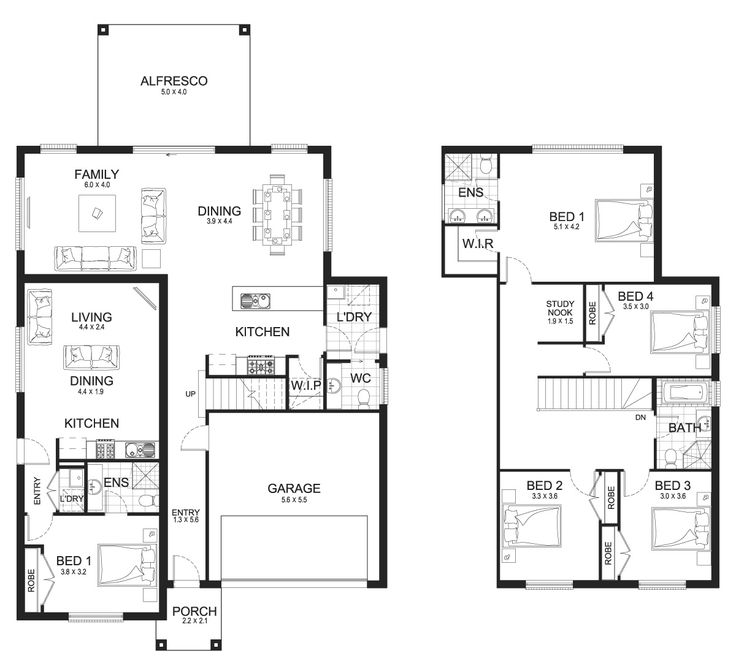 Madison Dual 33   Granny Flats Level   Floorplan By Kurmond Homes   New  Home Builders Sydney NSW