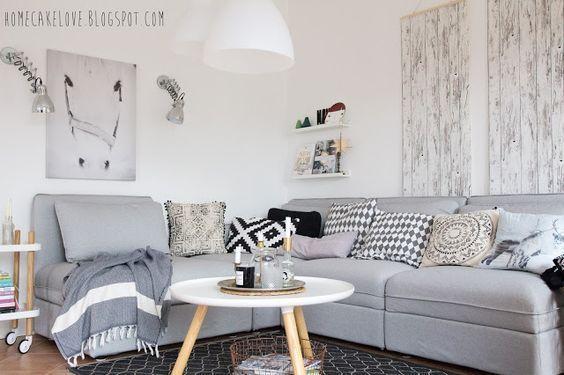 Progettare il soggiorno: scegliere il divano | Arredare: il ...