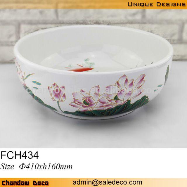FCH434 ile beyaz zarif desen seramik sanat lavabo, zemin monte yuvarlak banyo lavabo, m.turkish.alibaba.com adresindeki Banyo - Banyo Lavabo kategorisinde.