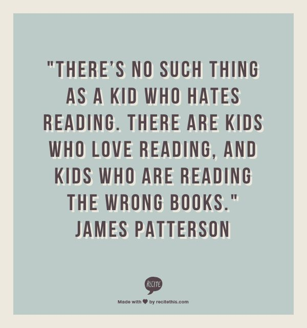 Amen!!! I've known a lot of people who didn't read, found a book, and that single book completely changed everything.