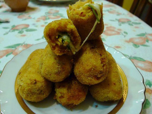 Crocchette di patate con 'nduja e scamorza CAULIFLOWER + 'NDUJA PASTA