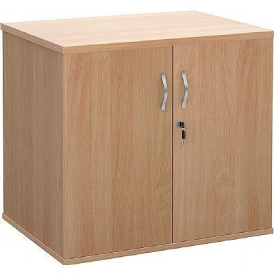 Deluxe Desk High Double Door Cupboards