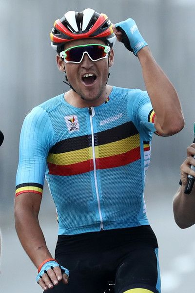 Greg van Avermaet wins the Gold medal in the Men's Road Race Rio 2016 Olympic Games /Getty Images