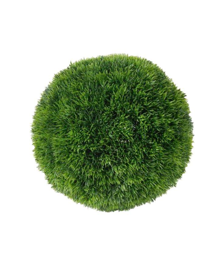 faux grass ball