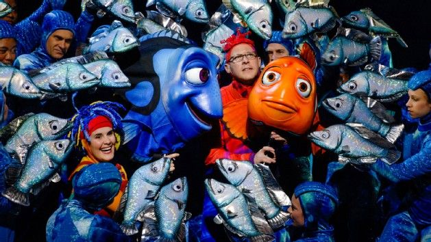"""Finding Nemo – The Musical -- Based on the hit animated movie, this must-""""sea"""" adventure makes a splash with spectacular music and stunning theatrical puppetry."""