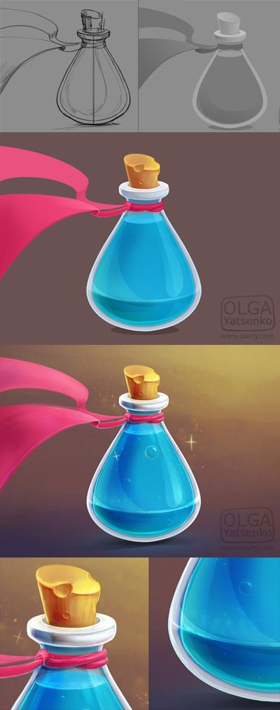 Making of game icon