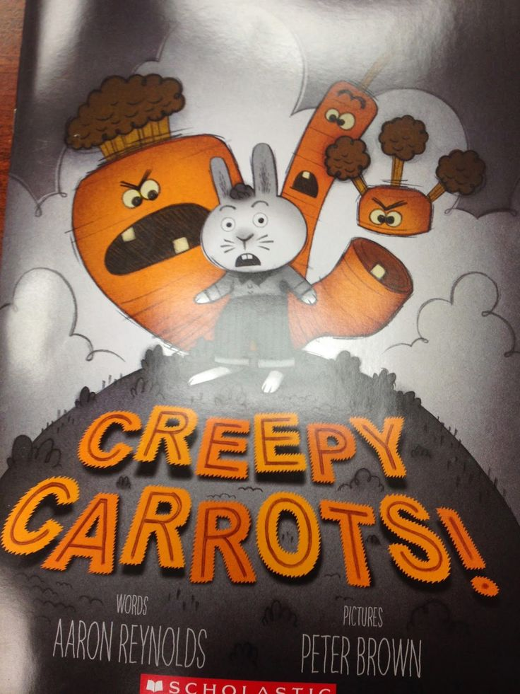 From Teach Two Reach 2nd Grade...she uses  summarizing and cause and effect using Creepy Carrots. Cute!