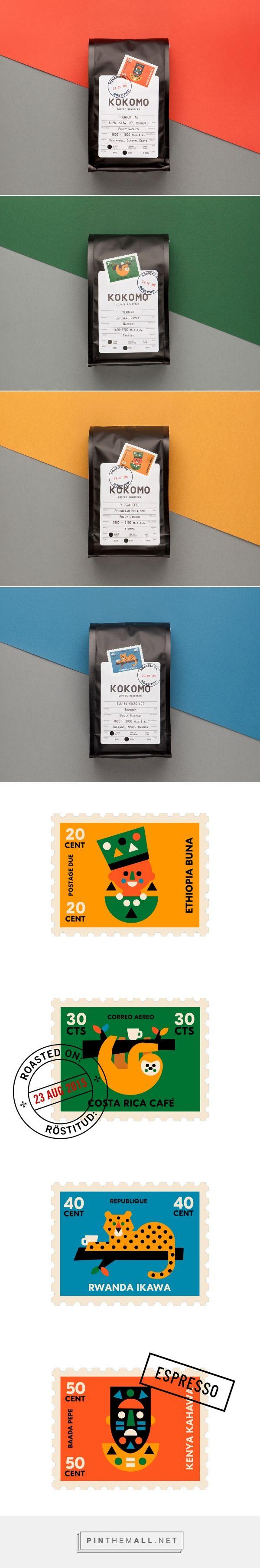 Kokomo Coffee packaging design by AKU (Estonia) - http://www.packagingoftheworld.com/2016/09/kokomo-coffee.html