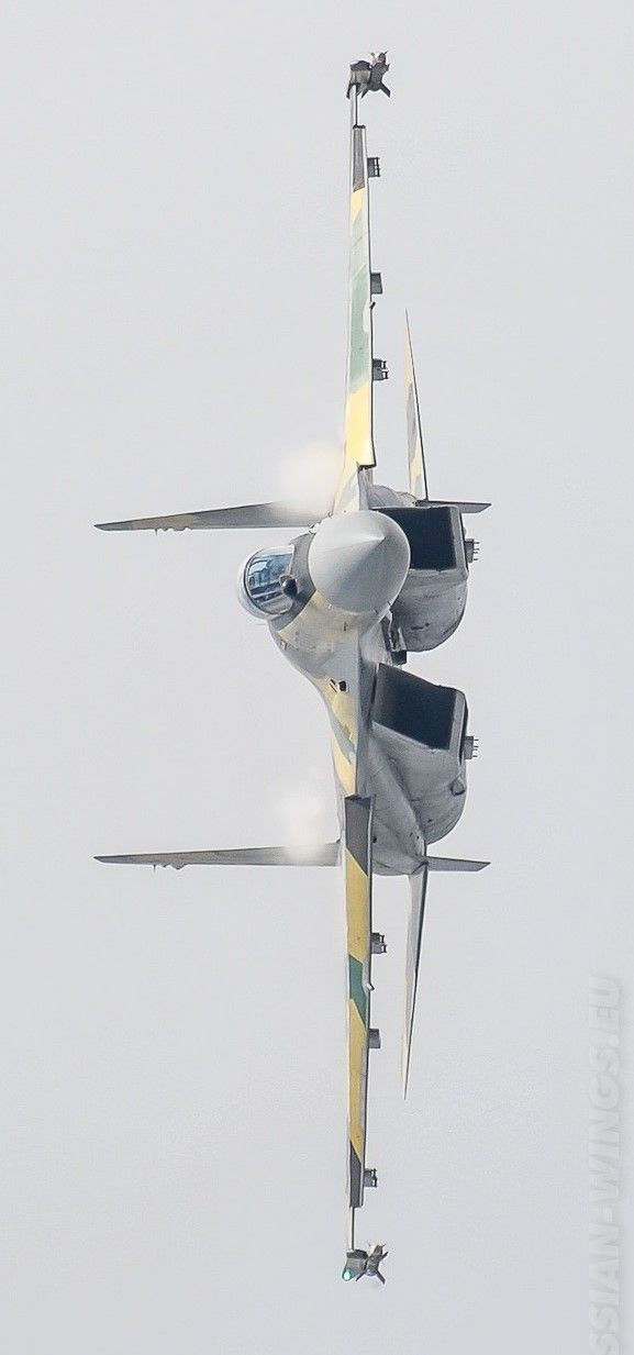 The Russian military's most advanced fighter, the Su-35, is fast, maneuverable, lethal and versatile.