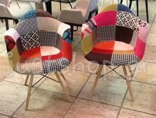 Arizona Sieno Daw DSW πολυθρόνα μασίφ ξύλινη βάση και πολυπροπυλενίο σε πολλά χρώματα - ρέπλικα σχεδίου των Charles & Ray Eames - justshop.gr
