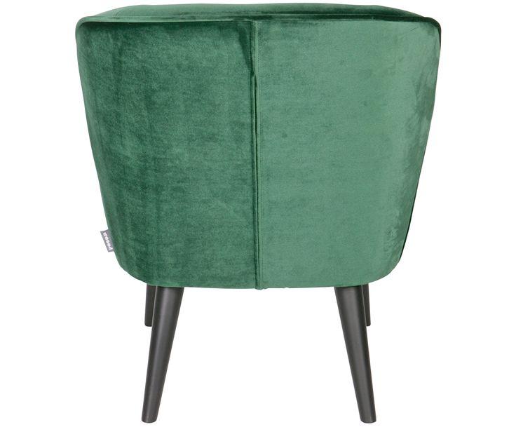 Machen Sie Ihr Wohnzimmer mit dem Samt-Sessel Sara in Flaschengrün und Schwarz zur Wohlfühloase. Entdecken Sie weitere tolle Möbel auf >> WestwingNow.