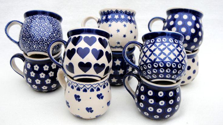 loving these Polish ceramic mugs http://www.ceramikaboleslawiec.com.pl/