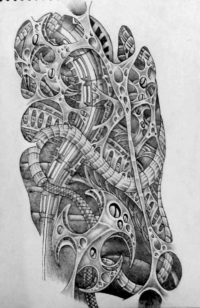 44 best images about H.R. Giger Tattoo Art on Pinterest ... H.r. Giger Tattoo