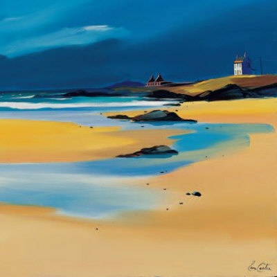 The Old Croft, Tiree Limited Edition - ART PRINT BY PAM CARTER, SCOTTISH ARTIST