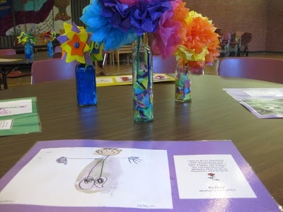 table setting for mothers day tea