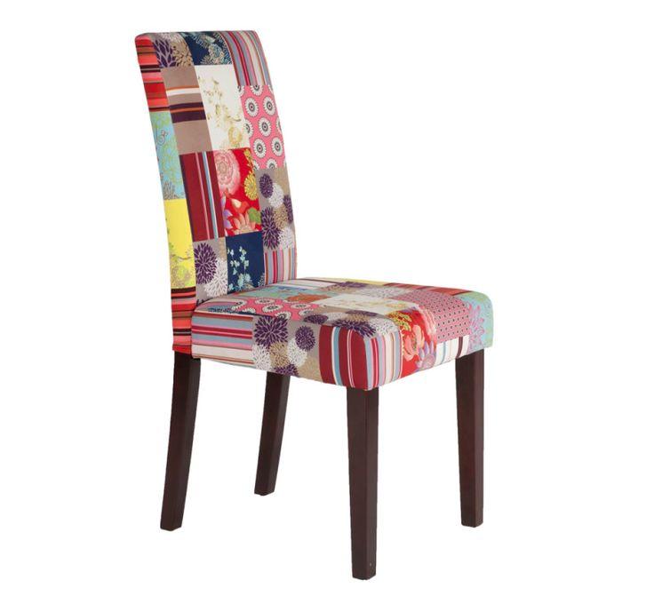 Esszimmerstühle bunt  Die 25+ besten Patchwork stuhl Ideen auf Pinterest | Pfau Stuhl ...