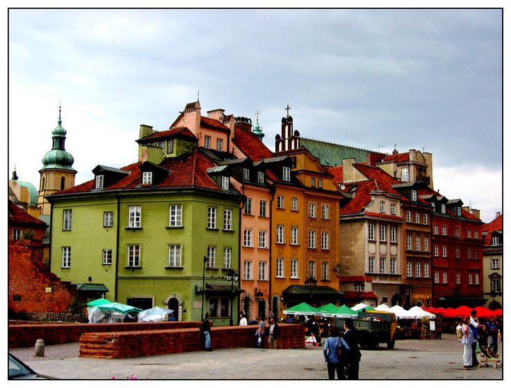 Couleurs de Pologne - Warsaw, Mazowieckie