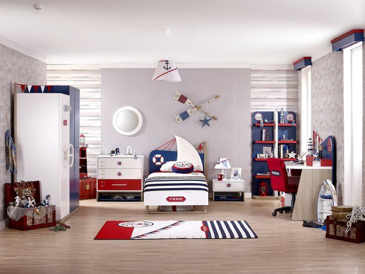 #meltembebekvegencodasi #cocuk #cocukodasi #mobilya #furniture #pacific #mavi #kırmızı #blue #red #homedecore #home #kidroom #decoration #design #carpet #bed #elbisedolabı #gardrop #yatak #halı #aksesuar #accessories #perde