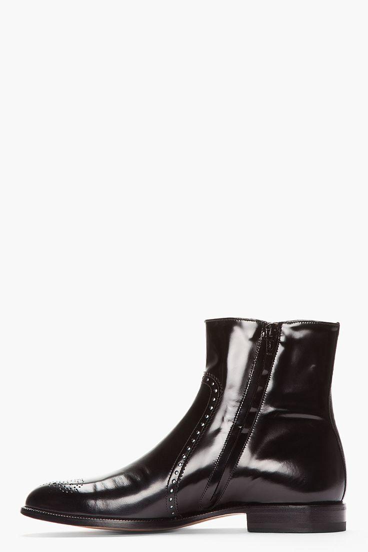 Black Bilton Boots Balenciaga Arena Sneakers And Reddish