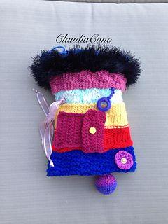 Muff Knitting Pattern : Free Loom knitted Twiddle Muff Pattern CrocMittTwiddlePattern Pinterest ...